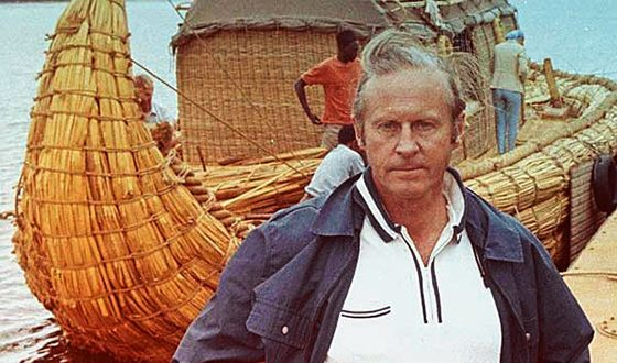 """Boat """"Ra-II"""" Heyerdahl reached Barbados"""