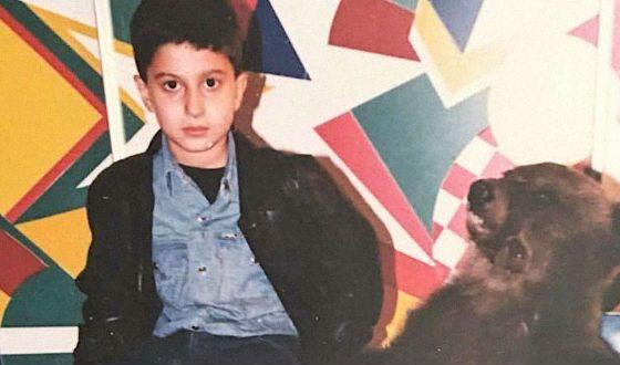 Амиран Сардаров в детстве