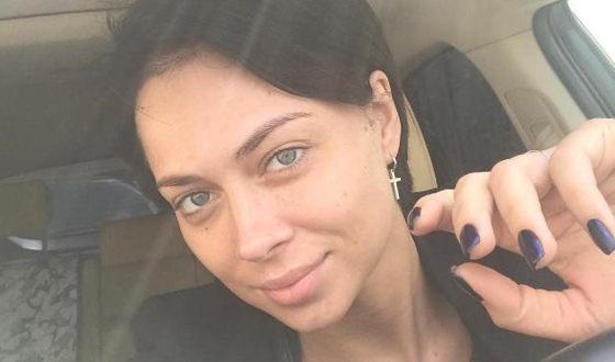 Nastasya Samburskaya without makeup