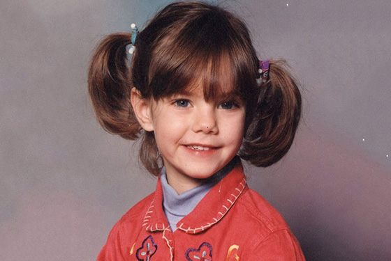 Childhood picture of Kaya Scodelario