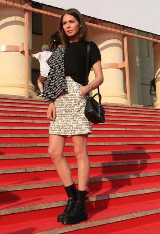 Agnia Ditkovskite got in shape after giving birth