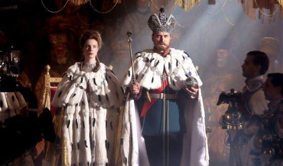 "Frame from the film ""Matilda"": Nikolay II and Alexandra Feodorovna"