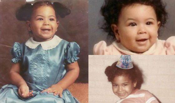 Beyoncé 's photos as a baby