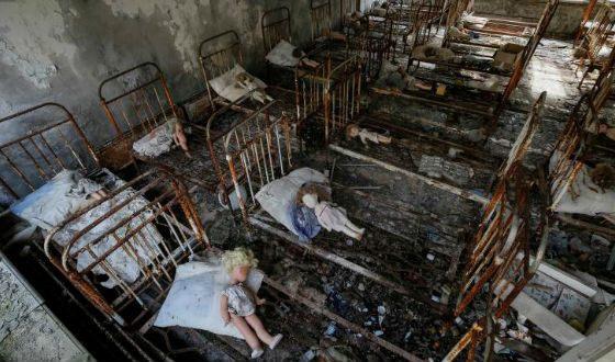фото чернобыль самые страшные места