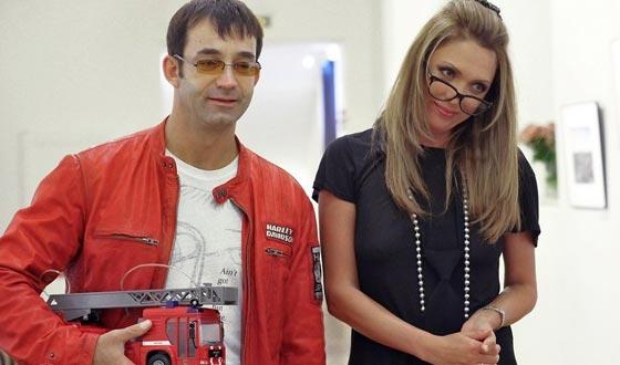 Olga Drozdova and Dmitry Pevtsov
