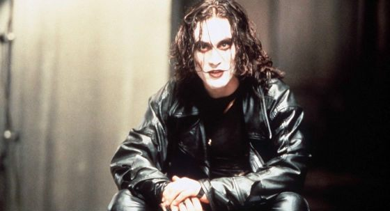 """Brandon Lee in the movie """"The Raven"""""""