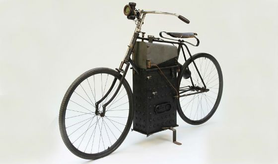 The creator of the first moped died right during the testing of his invention