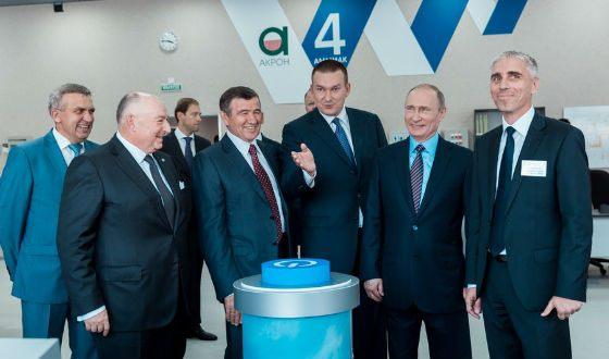 Vladimir Putin visits Akron new plant