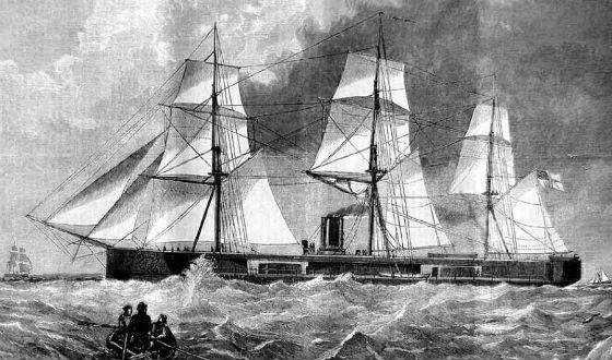 Sailing battleship ruined his creator Cooper Phips