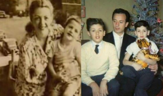 Stallone with parents