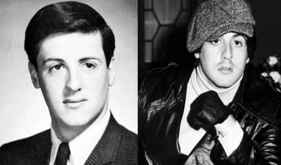 In his youth, Stallone was still a rebel