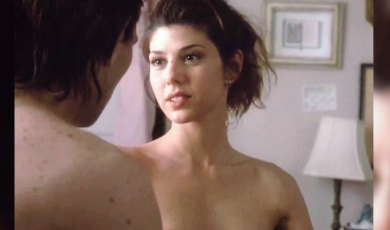 "Nude Marisa Tomei in the movie ""Wild Heart"""