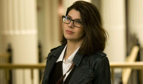 """""""Ides of March"""": Marisa Tomei as Ida Horovits as Journalist"""