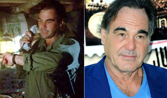 Platoon: Oliver Stone in a cameo role