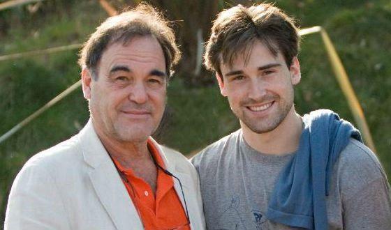 The director's eldest son, Sean Stone
