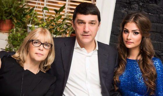 Parents of Anastasia Shubsky: actress Vera Glagoleva and businessman Kirill Shubsky