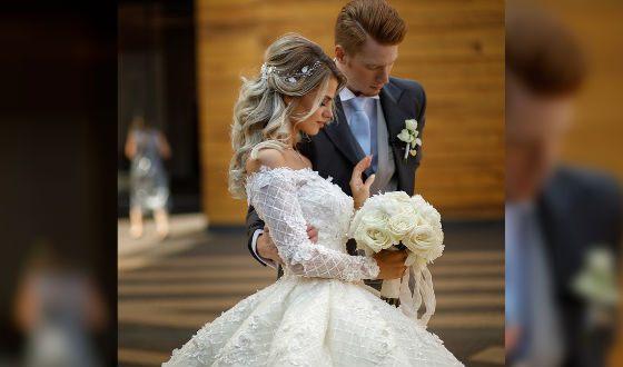 Свадебное платье Алены произвело фурор