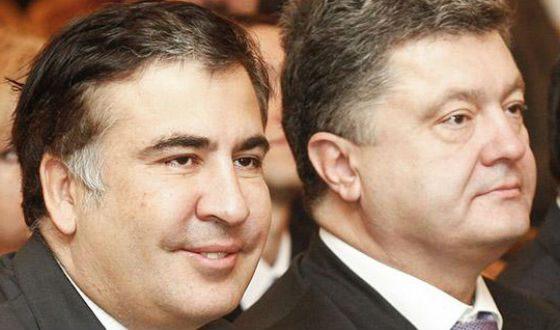 порошенко знакомы с саакашвили