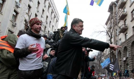 Poroshenko was a supporter of the Maidan