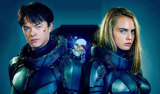 Dane DeHaan and Cara Delevingne («Valerian and the City of a Thousand Planets»)