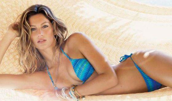 Жизель Бундхен лидирует в рейтинге самых красивых женщин среди моделей