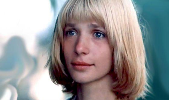 Молодая Вера Глаголева