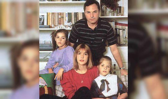 Вера Глаголева с мужем и детьми