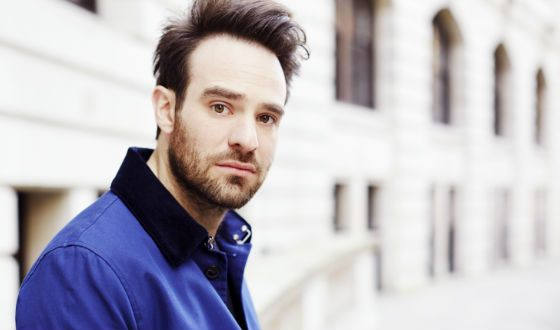 "Star of the series ""Daredevil"" Charlie Cox"