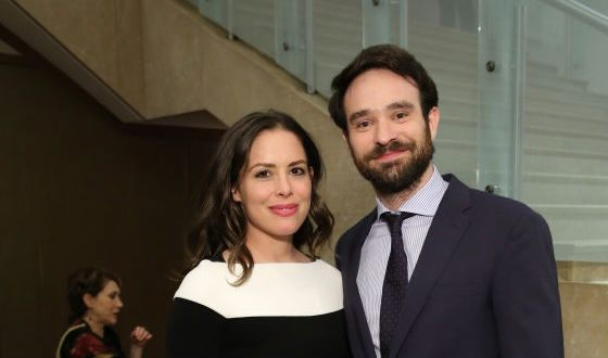 Pictured: Charlie Cox and Samantha Thomas