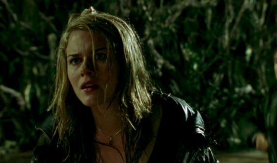 """Young Rachel Taylor in the horror film """"Leshy"""""""