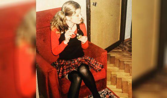 Татьяна Арно в юности