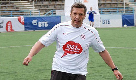 Соловьев сохранил юношеское воодушевление футболом