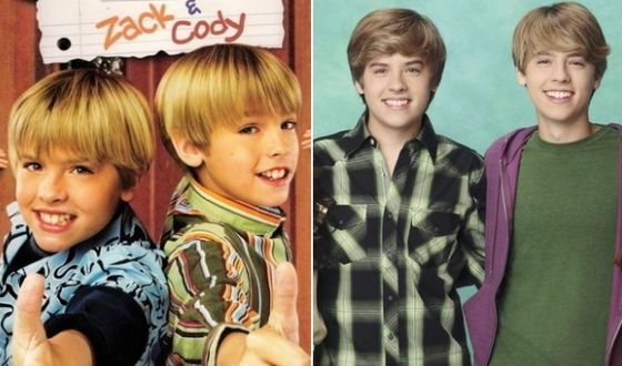 The series «The Suite Life of Zack & Cody» made brothers Sprouse famous