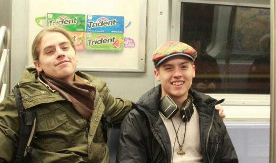 Sprouse Brothers in the New York subway