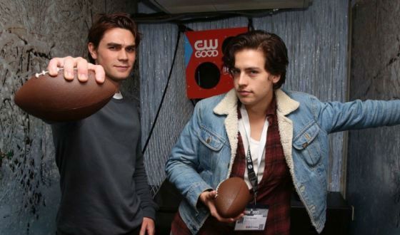The Riverdale cast: Cole Sprouse and KJ Apa