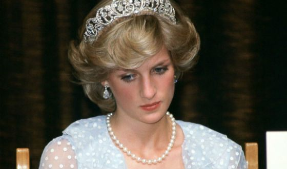 Princess Diana in the years of marriage for Charles