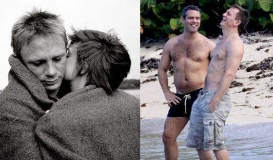 Дэниел крейг личная жизнь гомосексуалист