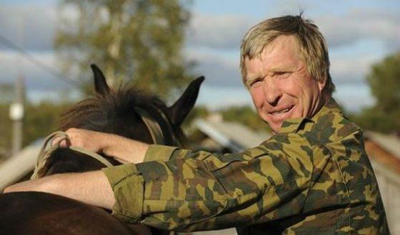 Alexey Tryapitsin in the film Andron Konchalovsky