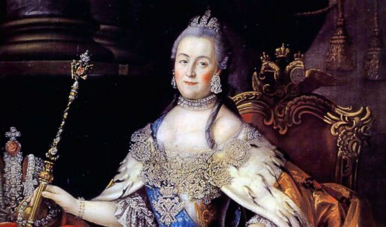 Catherine II has collected a large collection of erotic sculptures