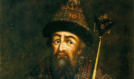 """Ivan the Terrible """"for sight"""" abdicated the throne"""
