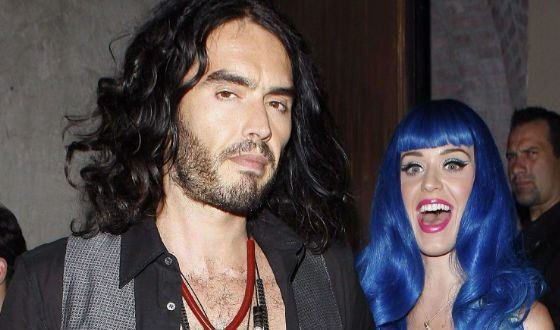 In the photo: Katy Perry and Russell Brand