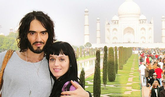 Katy and Russell got married in India