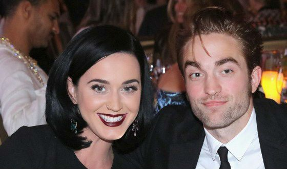 Katy Perry with Robert Pattinson