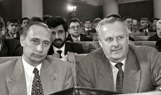 Putin was a member of the Anatoly Sobchak's team