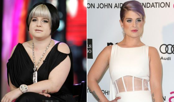 Kelly Osbourne struck everyone with a change in appearance