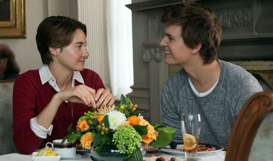 In the picture: Ansel Elgort and Shailene Woodley