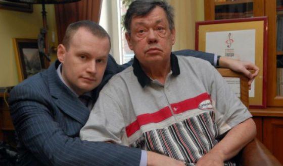 Николай Караченцов с сыном
