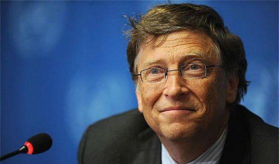 Bill Gates, creator of Microsoft, and philanthropist