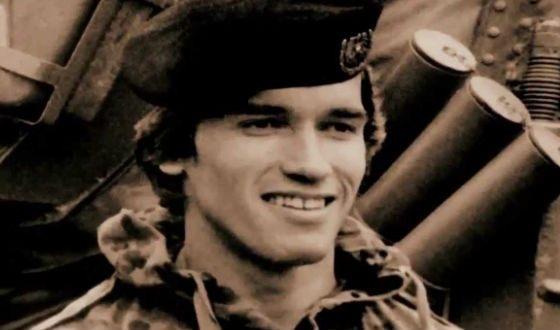Арнольд Шварценеггер в армии