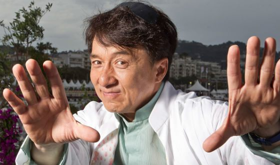 Jackie Chan is the iconic actor